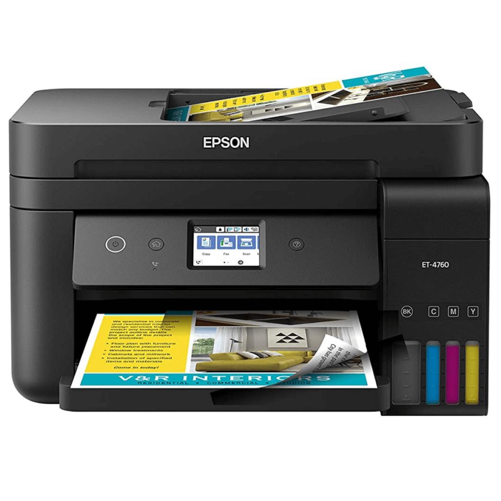 Epson Sublimation Printer USA 2021 | Epson Eco Tank ET-4760 Review sublimation printer usa 2021 | best sublimation printer