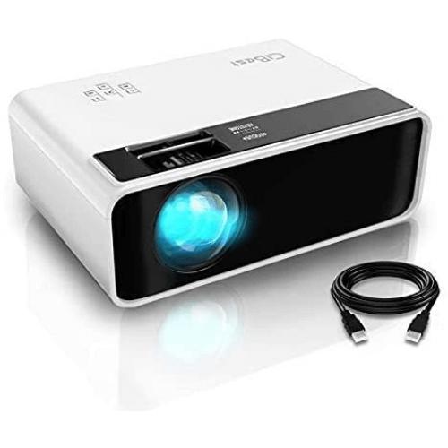 CiBestMini Projector,Outdoor Movie Projector 4500L: