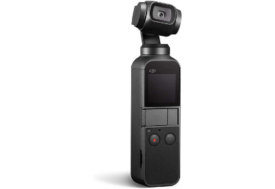 DJI Osmo Pocket With Integrated12 MP Camera