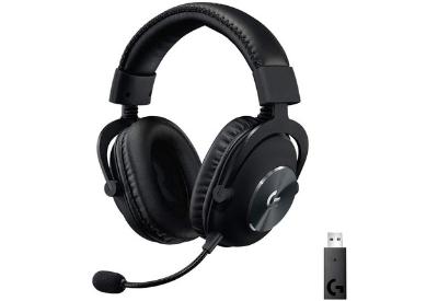 2. Logitech G Pro Lightspeed Gaming Headset ( Wireless, Blue Voice Mic Filter):